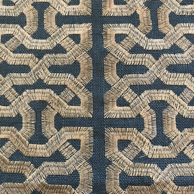 This is 12 yards of Kravet Couture Ceylon Key South Seas fabric. Book: Barbara Barry Indochine Content: Linen 100% Origin:...