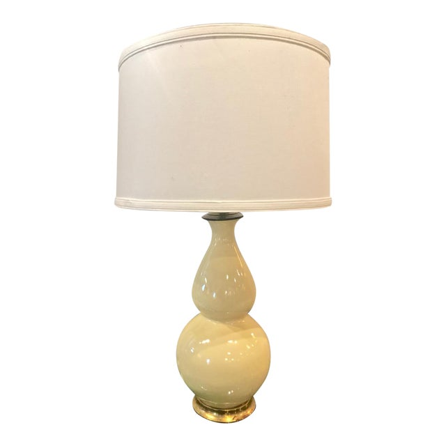 Early Christopher Spitzmiller Lamp, Signed 2002 With Shade For Sale