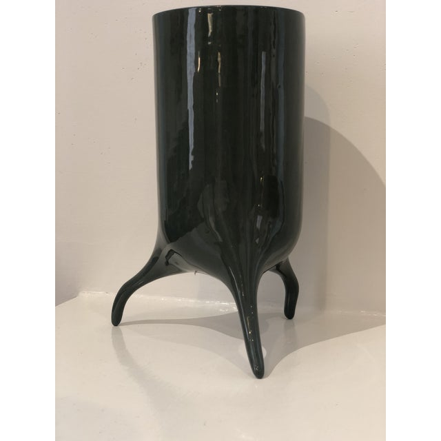 Contemporary Carnivora Large Porcelain Planter For Sale - Image 3 of 8