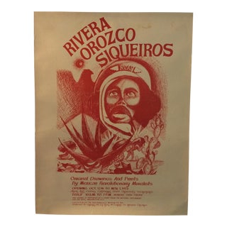 Rcaf Rivera Chicano Art Movement Poster For Sale