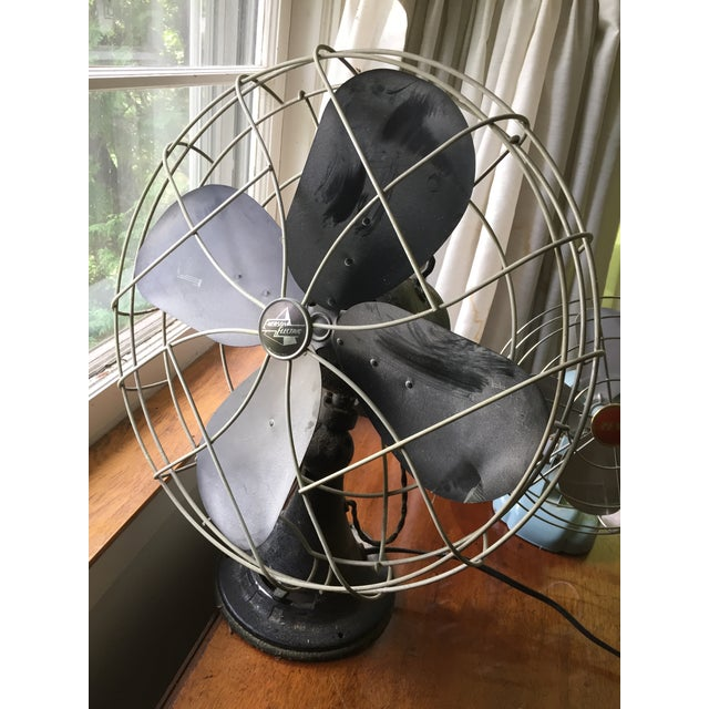Americana 1950s Vintage Table Fans - a Pair For Sale - Image 3 of 12