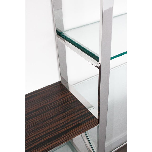 Milo Baughman Wall Mounted Shelving System - Image 8 of 10