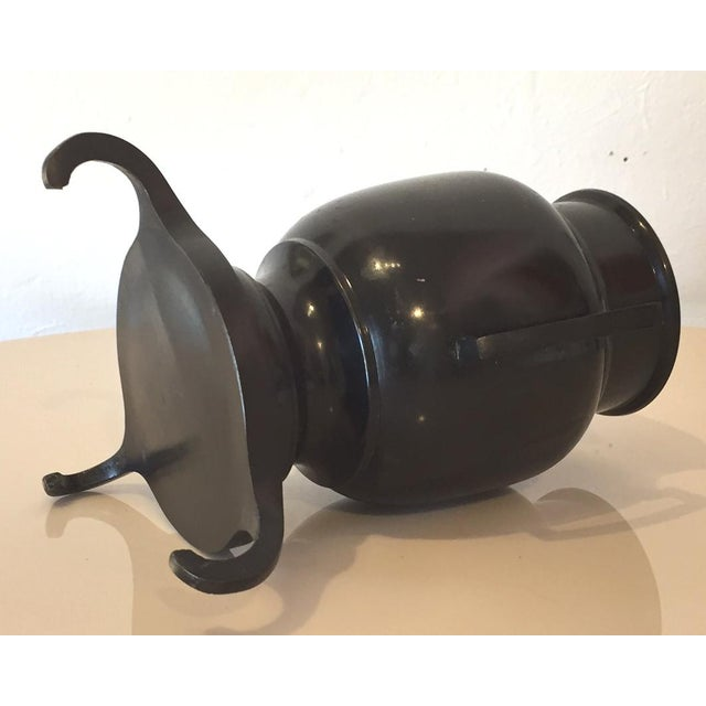 Japanese Style Bronze Ikebana Vase For Sale In San Francisco - Image 6 of 6