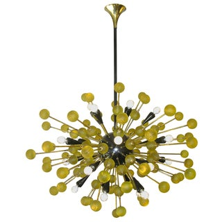 Captivating Italian Sputnik Chandelier For Sale
