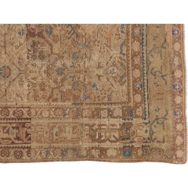Antique Persian Malayer Rug - 4′1″ × 6′4″ - Image 2 of 3