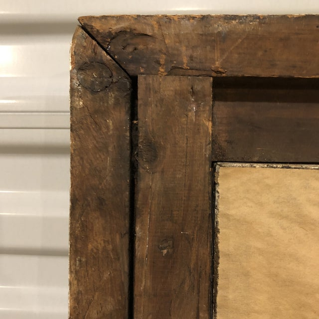 19th Century Regency Period Frame Mirror Ivy Frond Corners For Sale - Image 4 of 6