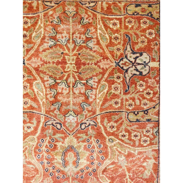 Traditional Handmade Indian Rug - 8' x 10' For Sale - Image 3 of 10