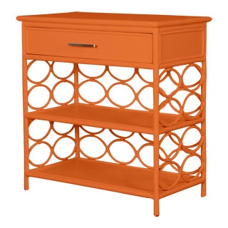Infinity End Table - Orange For Sale