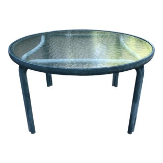 Mid Century Modern Brown Jordan Tamiami Side Table For Sale