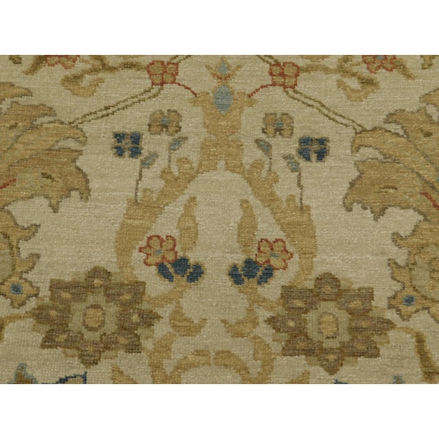 """Chinese Chinese Ziegler Hand Knotted Rug - 8'2""""x 10'4"""" For Sale - Image 3 of 8"""