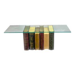 Library Book Cocktail Table For Sale