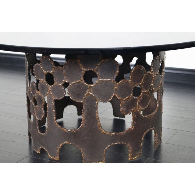 Mid-Century Modern Vintage Bronze Coffee Table For Sale - Image 3 of 10