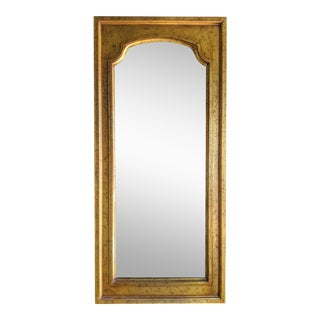 Boho Chic Moroccan Style Gilt Wood Mirror For Sale
