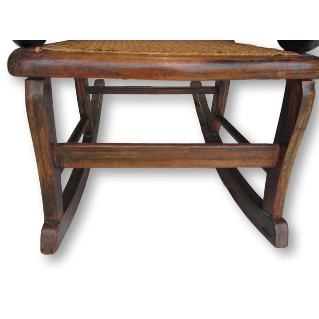 Antique Child's Rocking Chair - Image 5 of 8