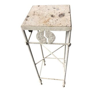 Art Deco Small Accent Table For Sale