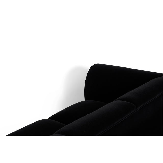 Jay Spectre Sofas on Chrome Bases For Sale - Image 9 of 10
