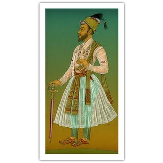 Antique 'Mughal 1' Archival Print For Sale