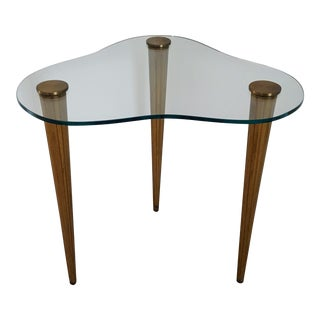 Vintage Mid-Century Corner Table For Sale