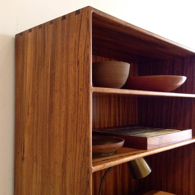 Gerald McCabe 1970s Vintage Cabinet & Shelves For Sale - Image 4 of 9
