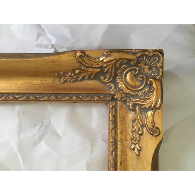 Vintage French Baroque Gold Frame - Image 3 of 6