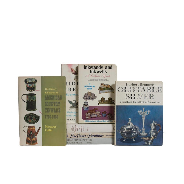 Transitional Antique Collecting Book Set - Set of 11 For Sale - Image 3 of 4
