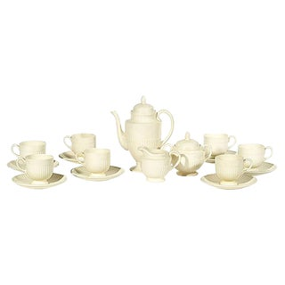 Wedgwood Demitasse Coffee Set, 17-Pcs For Sale