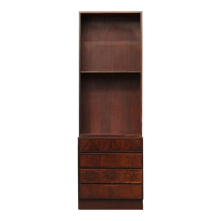 Omann Jun Vintage Danish Mid-Century Modern Rosewood Bookcase Model No. 60 For Sale
