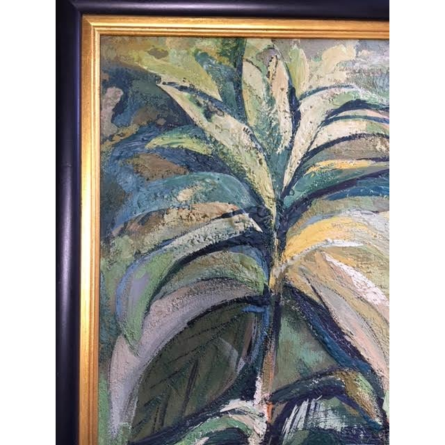 """Impressionist Marylou Kuh """"Foliage"""" Painting For Sale - Image 3 of 3"""