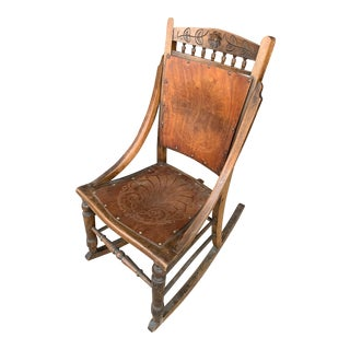 1940's Vintage Luterma Rocking Chair For Sale