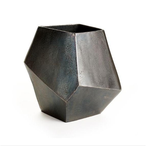 Contemporary Picasso Metallic Cache Pot For Sale - Image 3 of 3
