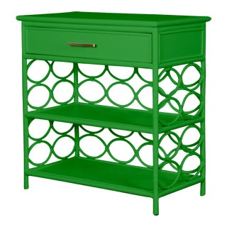 Infinity End Table - Bright Green For Sale