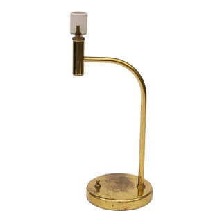 Walter Von Nessen Brass Table Lamp For Sale