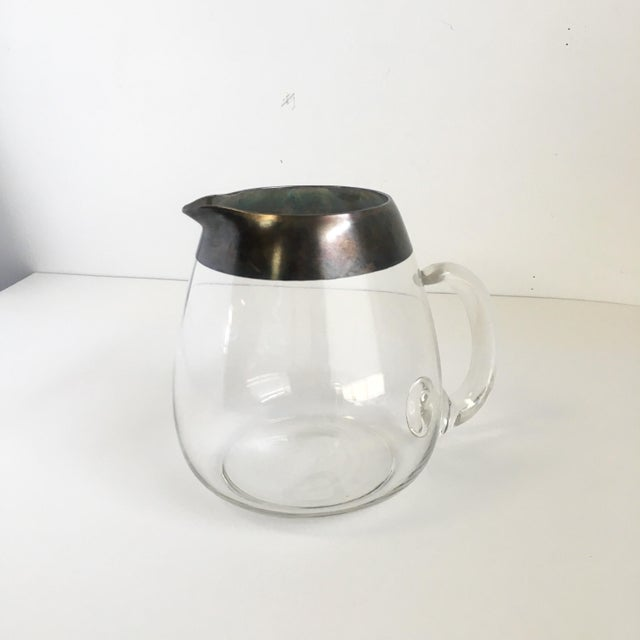 Dorothy Thorpe Mid Century Dorothy Thorpe Roly Poly Glasses & Pitcher Set of 7 For Sale - Image 4 of 6