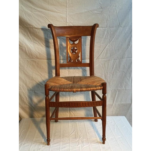 Carved Dining Room Chairs - Set of 6 - Image 2 of 5