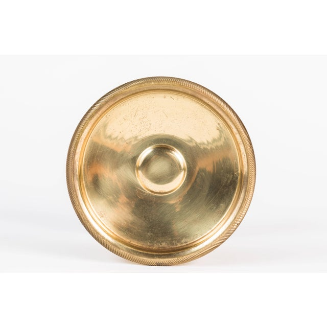 Vintage Mid Century Italian Brass Doorknobs For Sale In Los Angeles - Image 6 of 10