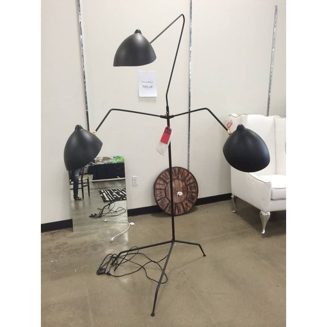 Serge Mouille Reproduction Floor Lamp For Sale In Chicago - Image 6 of 6