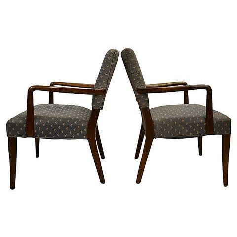 Stow Davis Finn Juhl Danish Armchairs - A Pair For Sale - Image 4 of 7