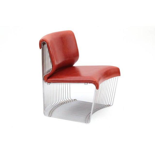 Fritz Hansen 1970s Vintage Verner Panton for Fritz Hansen Pantonova Chairs- Set of 3 For Sale - Image 4 of 8