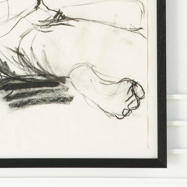 Female Figural Sketch From Amsterdam For Sale - Image 4 of 5