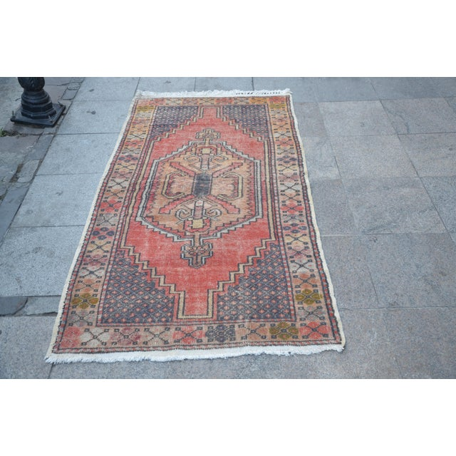 Anatolian Tribal Handwoven Rug - 3′5″ × 6′2″ - Image 2 of 6