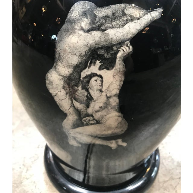 """Vintage Table Lamp """"Michelangelo Works"""", Italy, 1980s For Sale In Los Angeles - Image 6 of 10"""