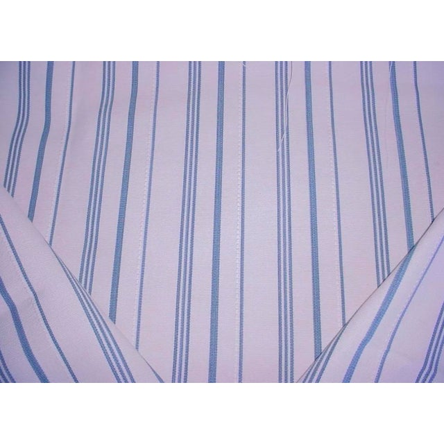 Traditional Ralph Lauren Annick Ticking Fabric For Sale - Image 3 of 4