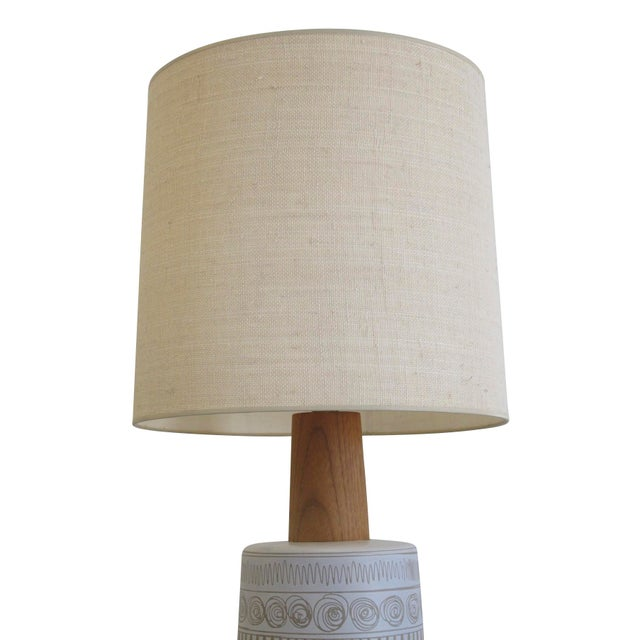 Mid-Century Martz Glazed Ceramic Lamp for Marshall Studios For Sale In San Francisco - Image 6 of 7