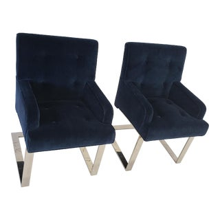 Paul Evans Dining/ Side Chairs by Directional For Sale
