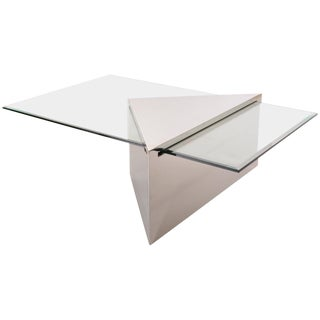 Brueton Triform Coffee Table Designed by J. Wade Beam For Sale