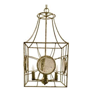 Currey and Co. Modern Gold Leaf Celestia Lanterns