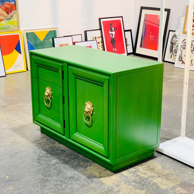 Art Deco 1960's Hollywood Regency Style Cabinet by Reitter Design Studio For Sale - Image 3 of 4