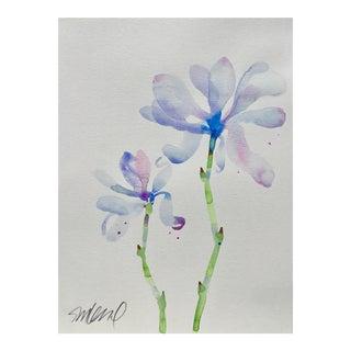 "Botanical 42, Original Watercolor, 9x12"" For Sale"