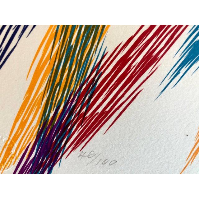 1980s Piero Dorazio Untitled 1988 1988 For Sale - Image 5 of 9