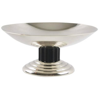 Puiforcat Silver Plate Ring Holder Display Bowl Tazza Art Deco Design